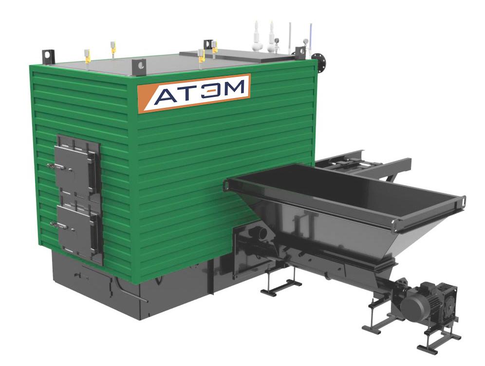 Котлы на щепе GBm (КВм-Д), мощностью 900-2500 КВт