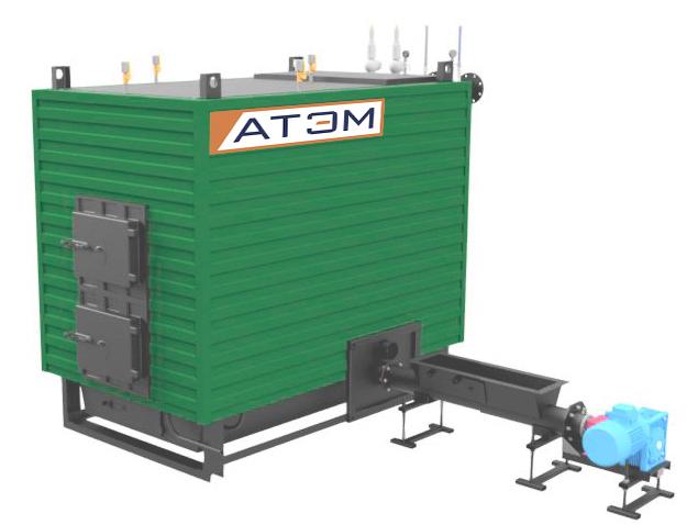 Котлы на щепе GBm (КВм-Д), мощностью 300-800 КВт