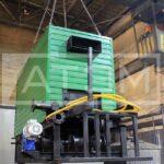 Механизированный водогрейный котел серии КВм-Д с шурующей планкой