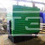 Механизированный водогрейный котел серии КВм-Д для сжигания щепы и опилок