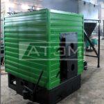 Механизированный водогрейный котел КВм-Д для сжигания щепы